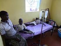 Children ravished by malaria