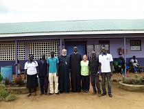 Fathers, Sue and clinic staff